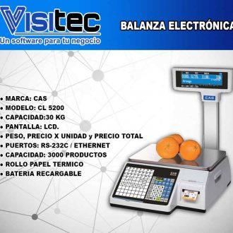 Balanza Electrónica CL 5200
