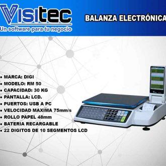 Balanza Electrónica RM 50