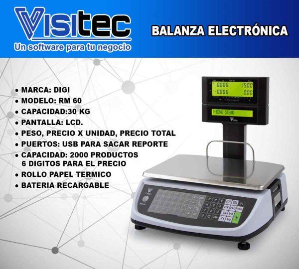 Balanza Electrónica RM 60