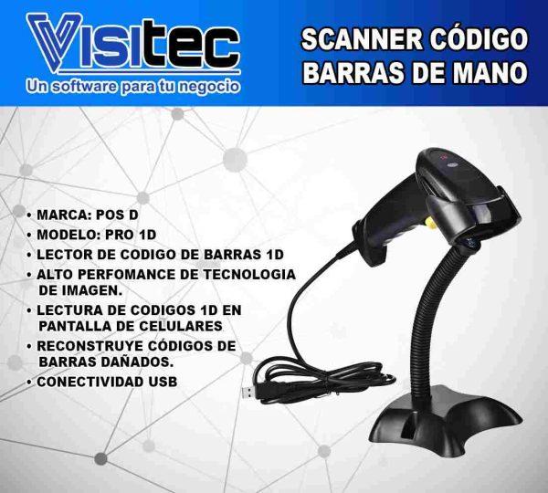 scanner codigo de barras pro 1d