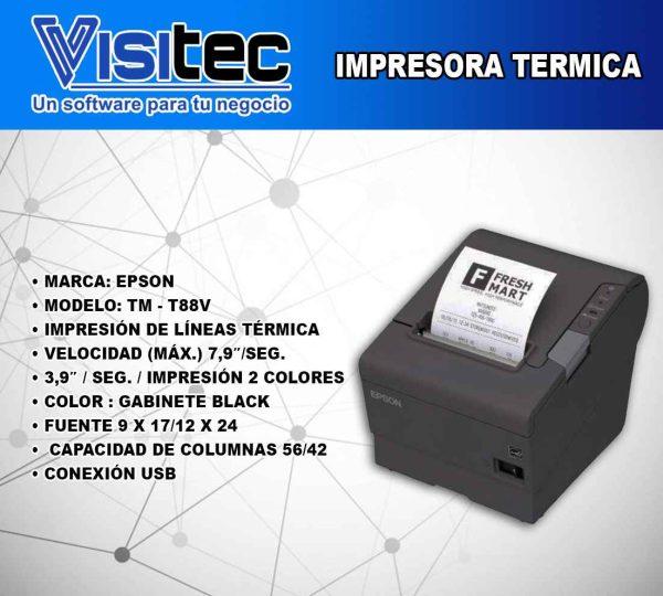 Impresora Térmica TM T88V