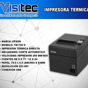 Impresora Térmica TM T20 II