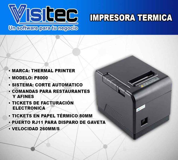 Impresora Térmica P 8000
