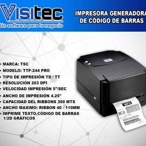 Impresora Generadora de Código de Barras