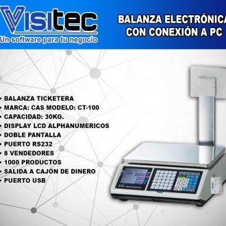 Balanza Electrónica CT 100
