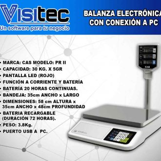 Balanza Electrónica PR II