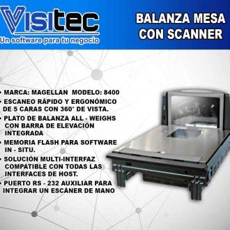 Balanza Electrónica Magellan 8400