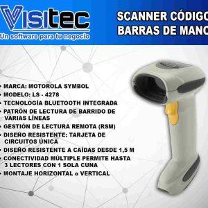 Scanner de Código de Barras LS 4278